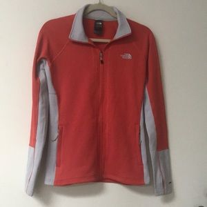North Face Jacket Sz Sm coral flash dry Worn